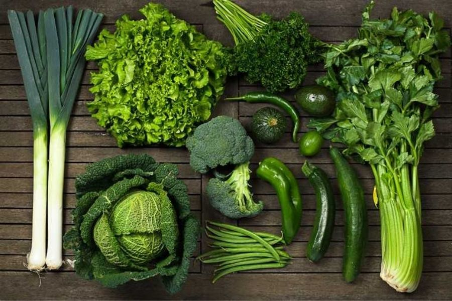 Iron-loaded Green Leafy Vegetables