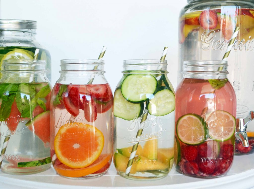 can you have infused water?