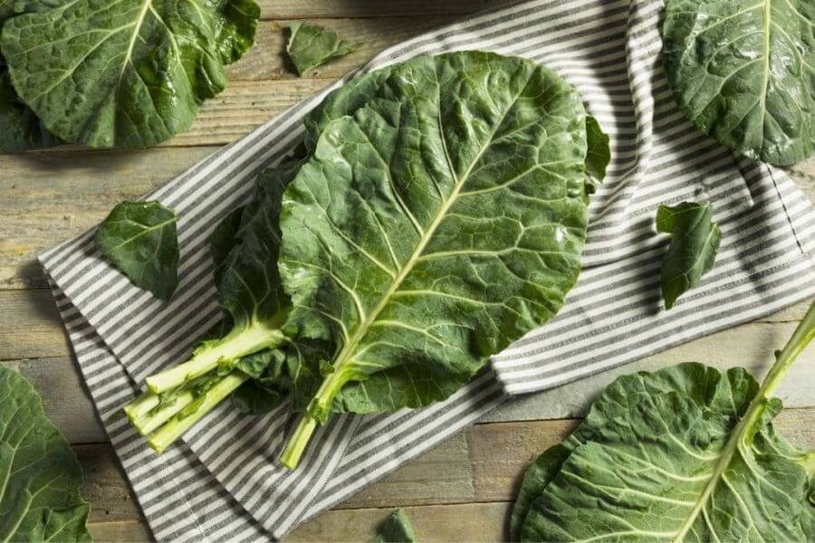 Collard Greens Are A Very Nutrient-rich Vegetable.