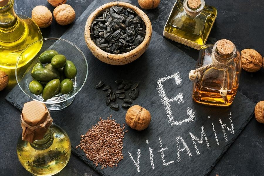 Different Functions Of Vitamin E