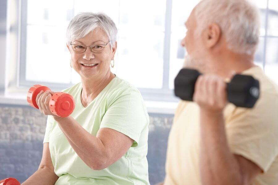 Exercising In Old Age