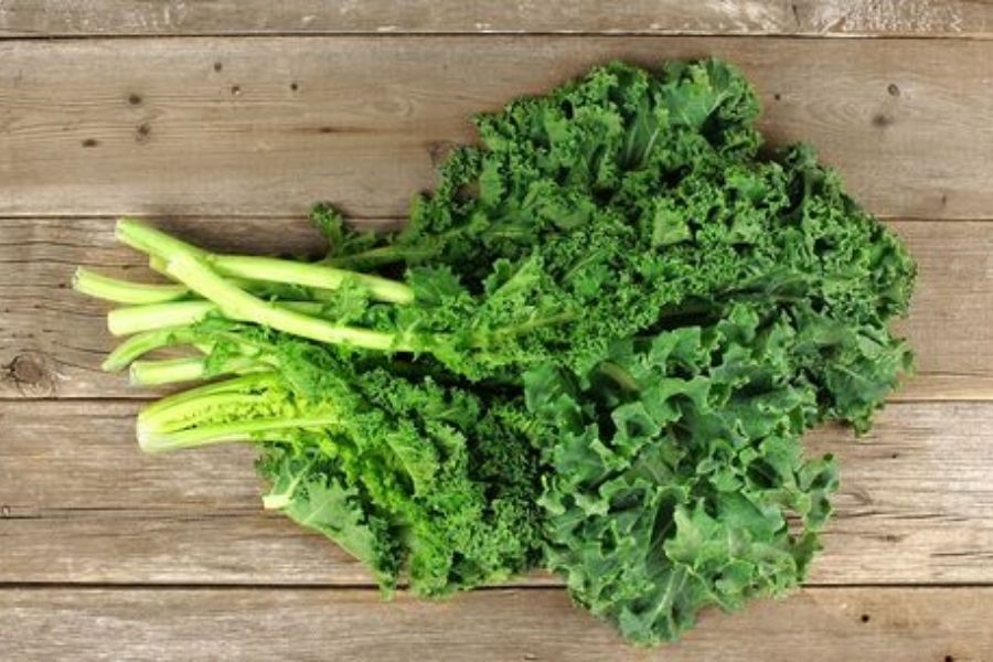 Kale Is A Popular Leafy Green Vegetable.