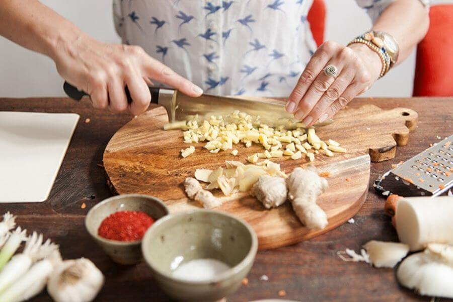 Ginger Root Is Used As A Spice In Almost Every Dish.