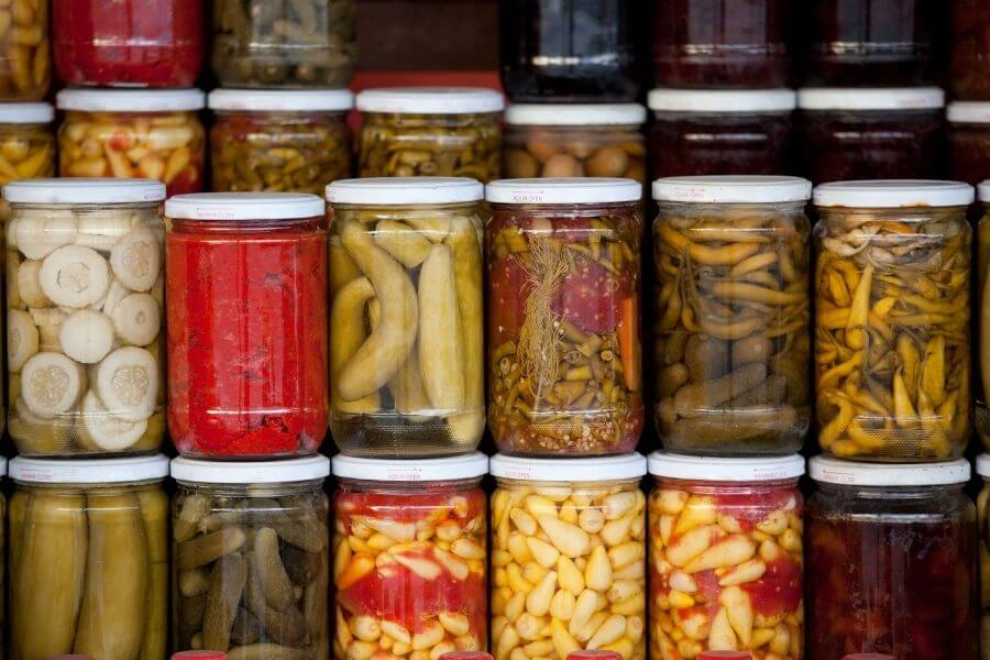 Fermented/Pickled Vegetables Also Provide All The Nutrients As Well As Probiotics.