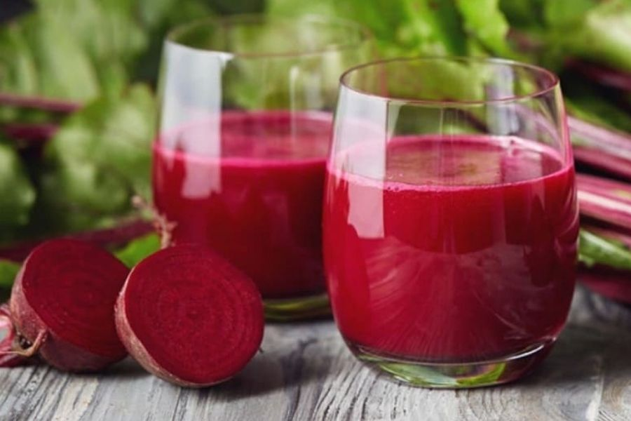 Beetroot And Mint Juice