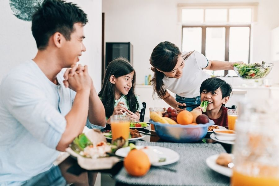 Eating Meals Together As A Family