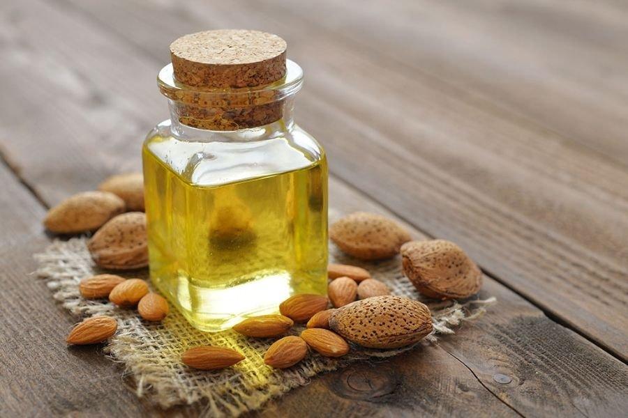 Almond Oil Lip Massage