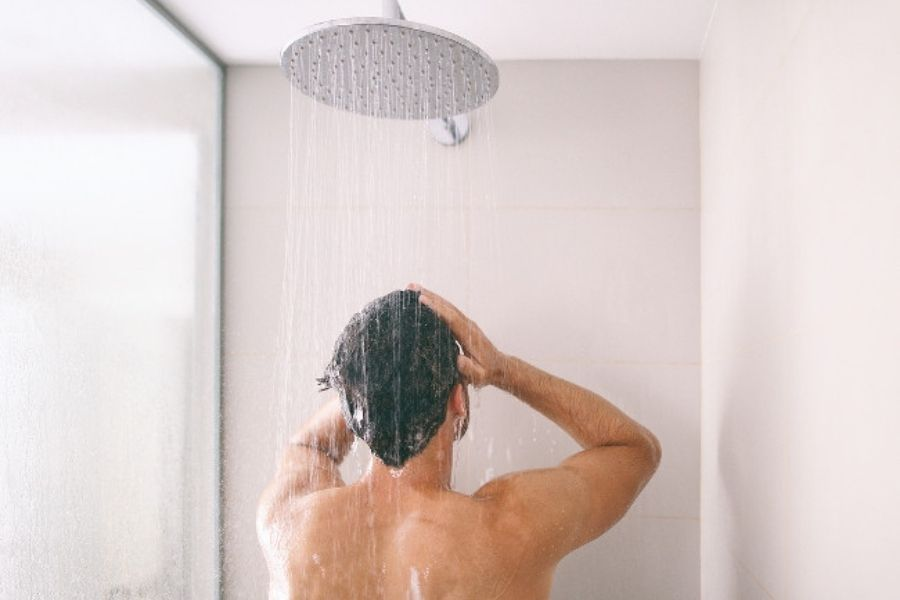 Get Relaxed And Take A Shower