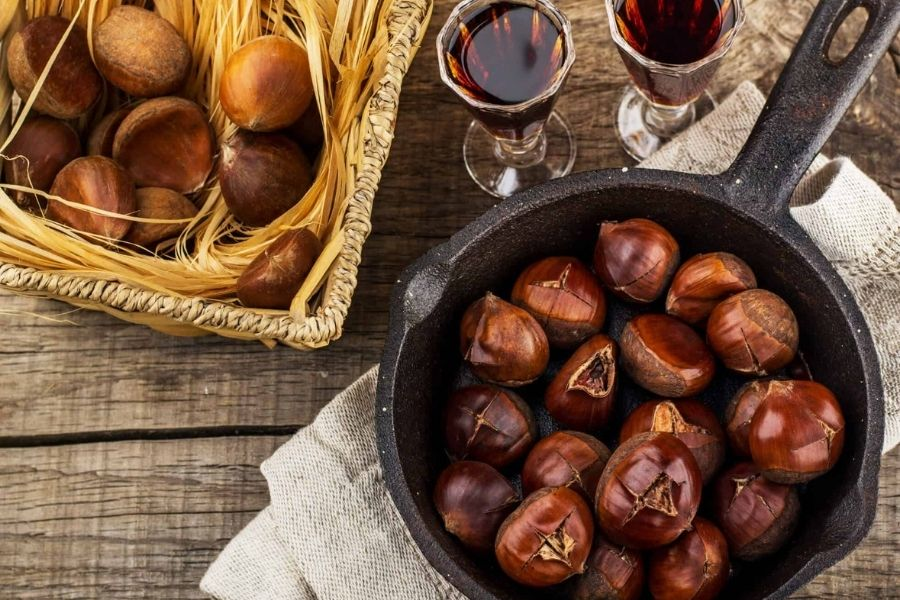 Chestnuts Have Antioxidant Property