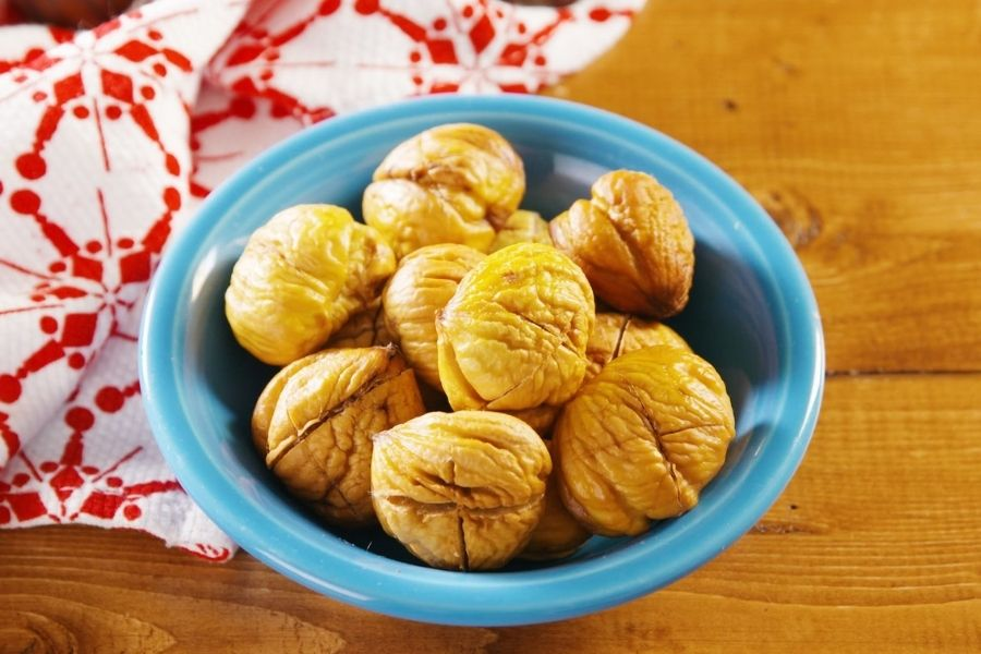 Chestnuts Contain Tannins