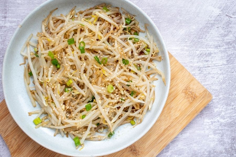 Beans And Sprouts Salad