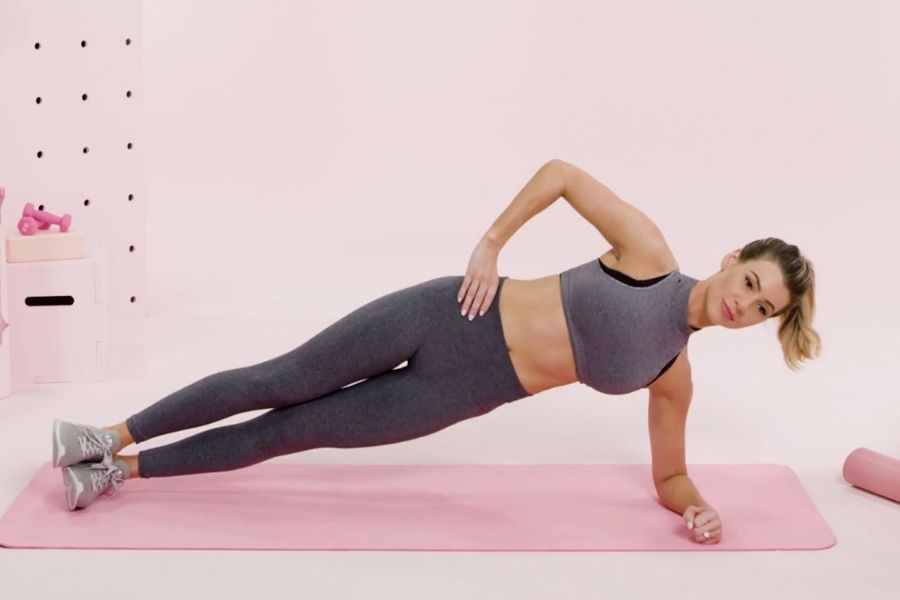 Side Plank Hip Dips