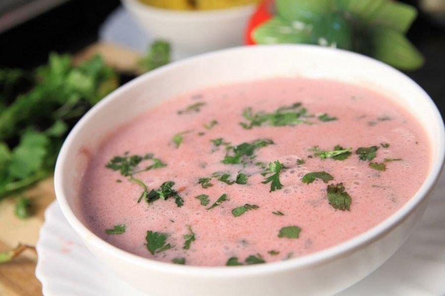 Pink Kokum Soup