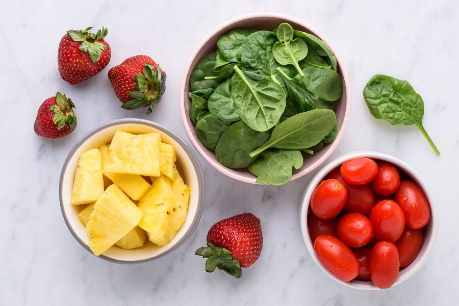 Adding Fruits And Vegetables