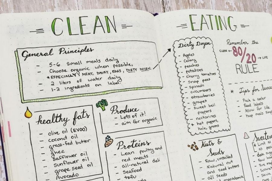 do's and don'ts of food journaling